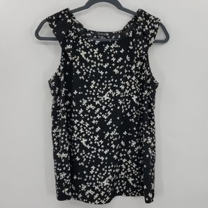 Forever 21 Butterfly Print Tank Top